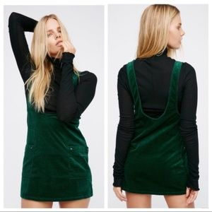 Free People Dresses - Free People Devoted To You Jumper Corduroy Dress